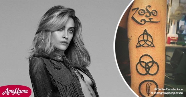 Paris Jackson reveals huge new rock-inspired tattoos adding it to her 50+ other bizarre inks