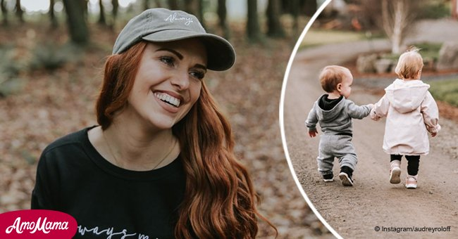 Audrey Roloff shows 'sweetest' baby cousins holding hands while feeling thankful for uncle Zach
