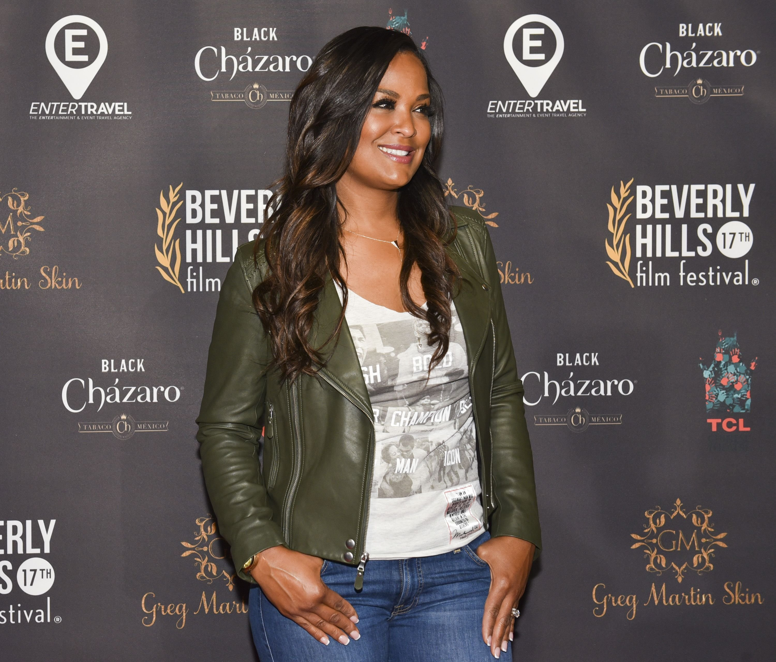Laila Ali attends the Beverly Hills Film Festival | Source: Getty Images/GlobalImagesUkraine