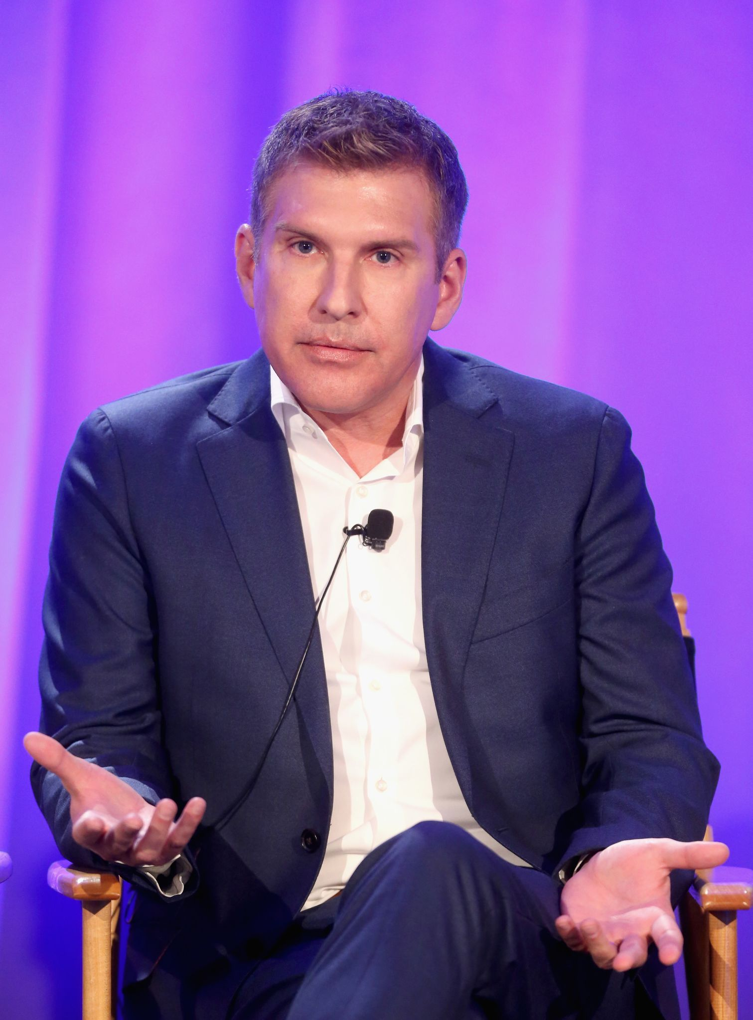 Todd Chrisley speaks during the 'Chrisley Knows Best' panel at the NBCUniversal Summer Press Day on April 1, 2016 in Westlake Village, California | Photo: Getty Images