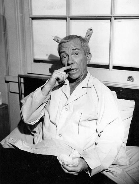 """Ray Walston as Uncle Martin from the television program """"My Favorite Martian."""" 