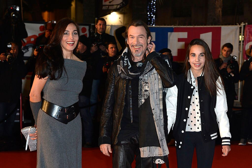 Florent Pagny en compagnie de son adorable famille. l Source: Getty Images