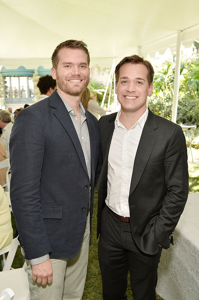 Patrick Leahy and TR Knight attend The Rape Foundation's Annual Brunch at Private Residence on September 25, 2016, in Beverly Hills, California. | Source: Getty Images.
