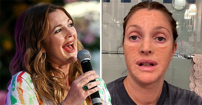 Drew Barrymore Looks Unrecognizable as She Can Barely Move Her Lips While Wearing Face Mask