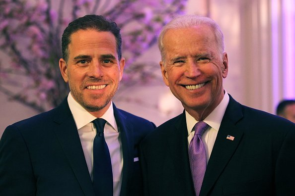 Hunter Biden and Joe Biden at the World Food Program USA's Annual McGovern-Dole Leadership Award Ceremony | Photo: Getty Images