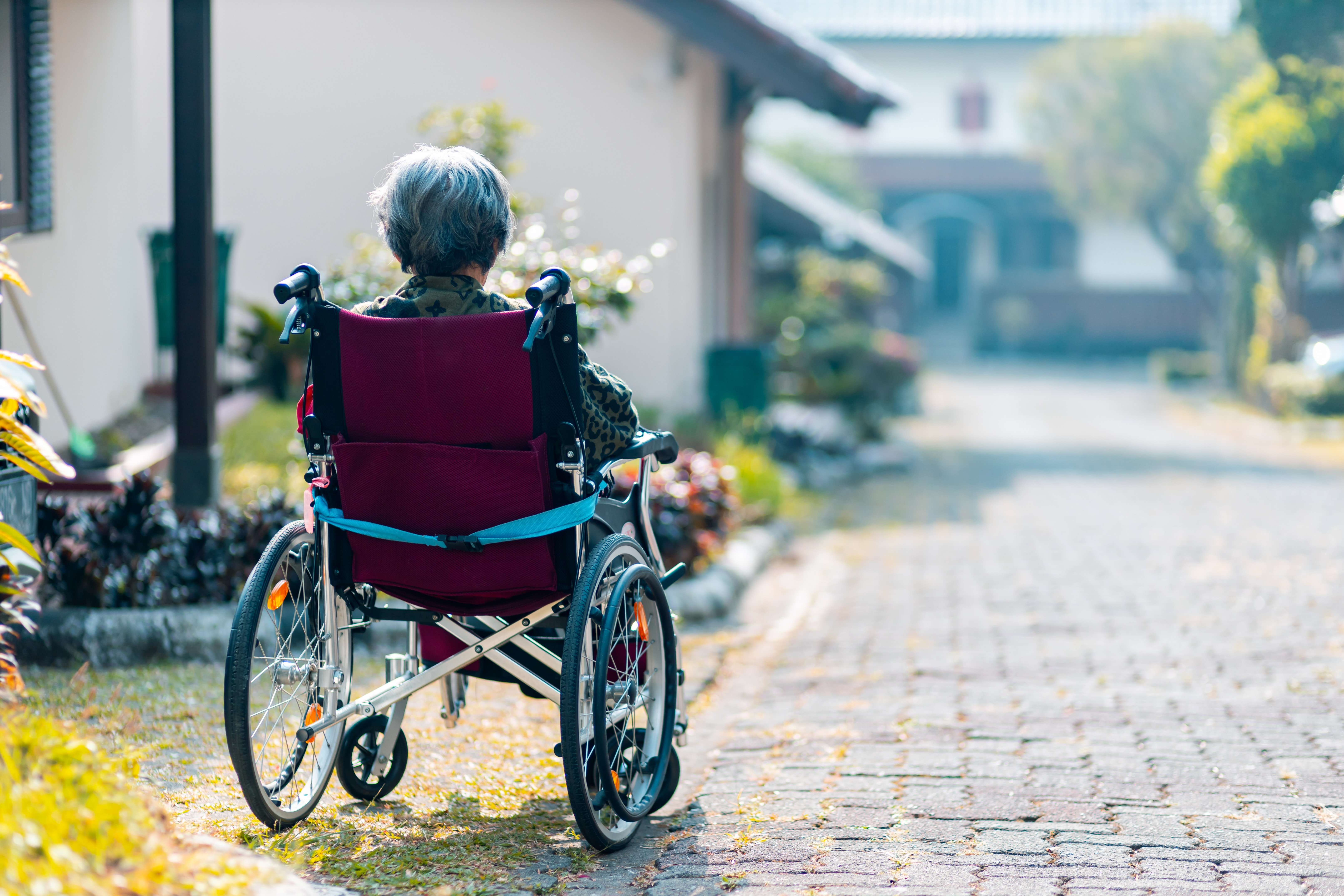 Mrs. Drummond was confined to a wheelchair after she suffered an injury   Photo: Unsplash