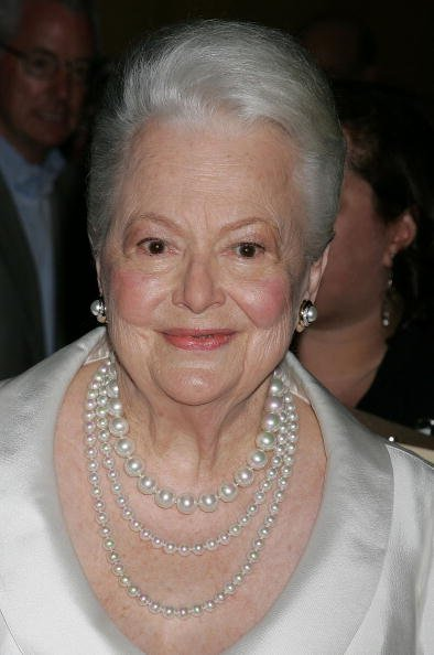 Olivia de Havilland, Academy of Motion Picture Arts and Sciences, 2006 | Quelle: Getty Images