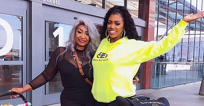 Porsha Williams from RHOA Takes Mom Diane and Daughter Pilar Jhena on Vacation to Greece in New Photos
