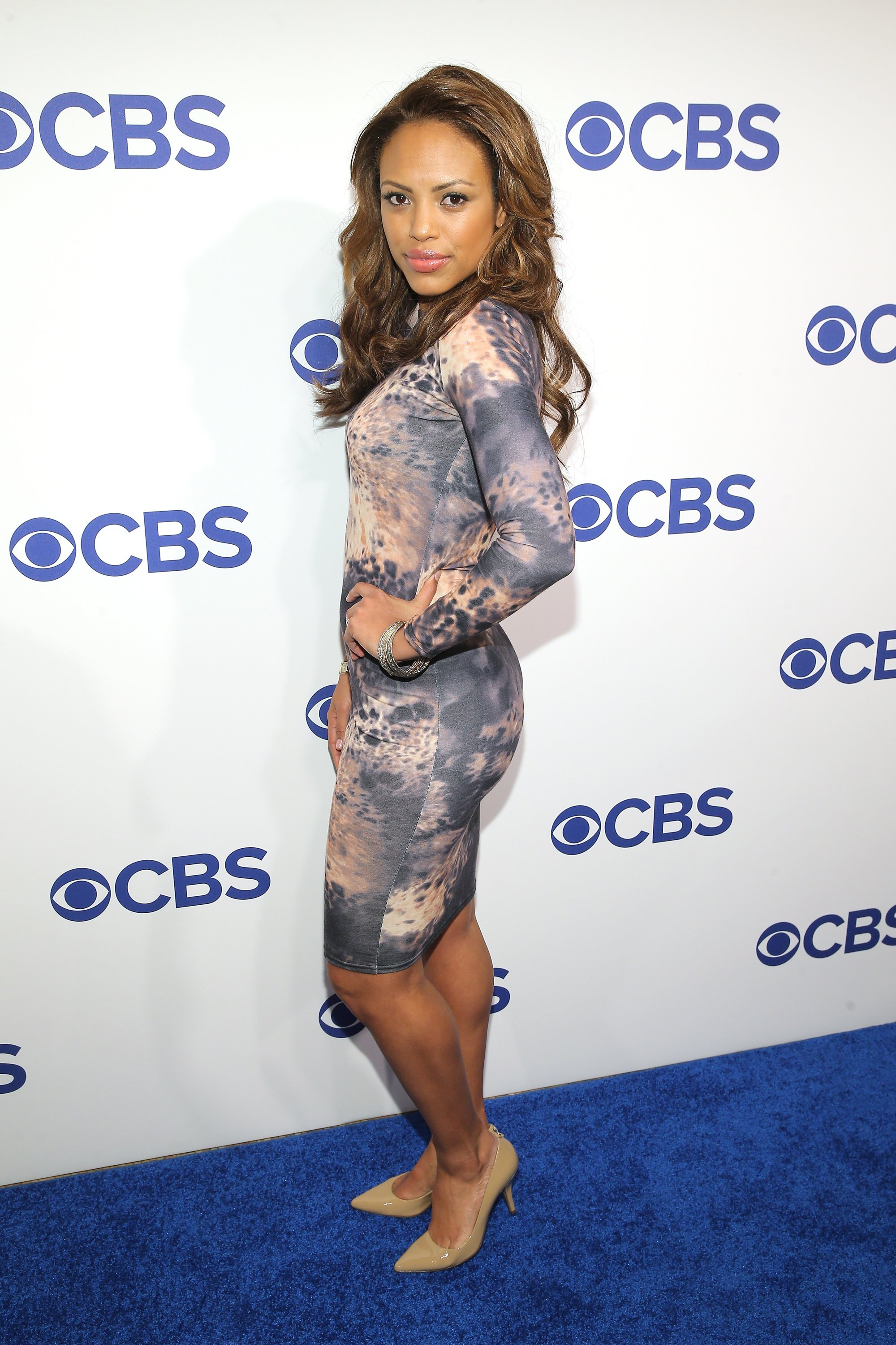 Jaime Lee Kirchner attends the 2016 CBS Upfront at The Plaza on May 18, 2016, in New York City. | Source: Getty Images.