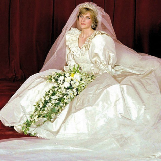 Princess DIana on her wedding day, July 29, 1981| Source: Getty Images