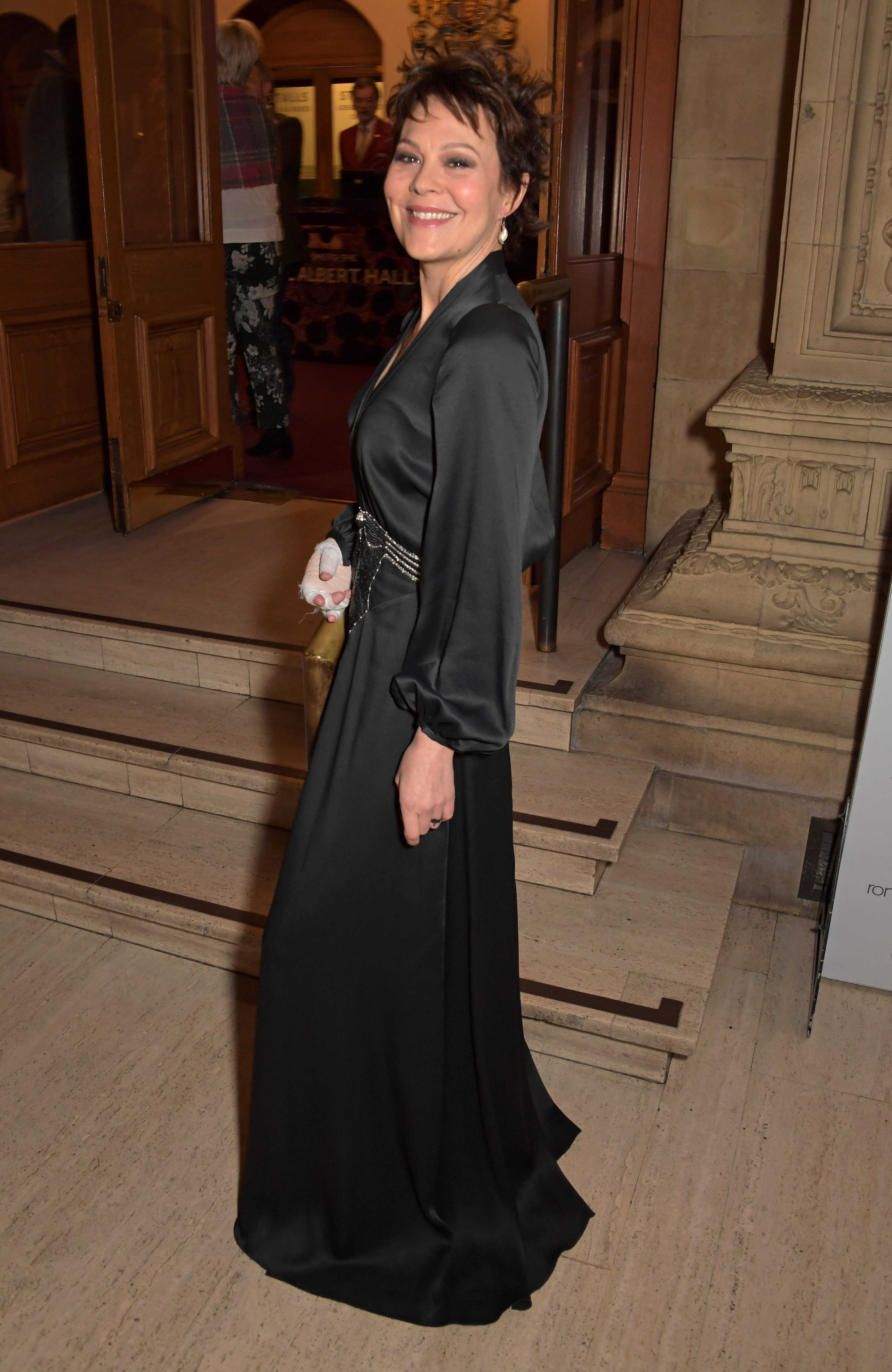 """Helen McCrory attends """"A Night At Ronnie Scotts: 60th Anniversary Gala"""" at the Royal Albert Hall on October 30, 2019 in London, England 