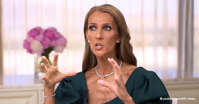 Céline Dion gibt zu, dass sie sehr verliebt ist, während sie Bedenken abtut