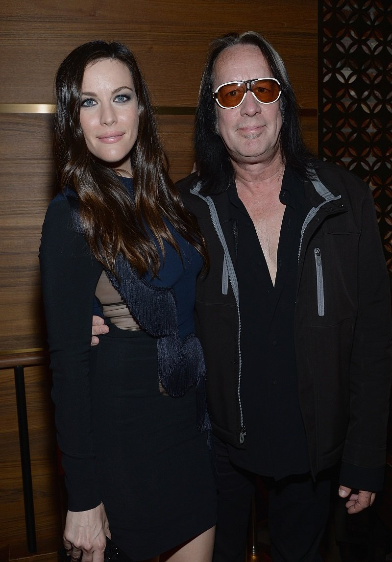 Liv Tyler and Todd Rundgren on June 23, 2014 in New York City   Photo: Getty Images