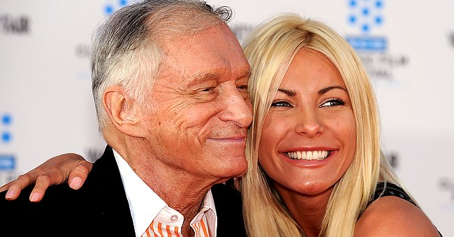 Hugh and Crystal Hefner pictured at the TCM Classic Film Festival opening night, 2011, Hollywood, California.   Photo: Getty Images