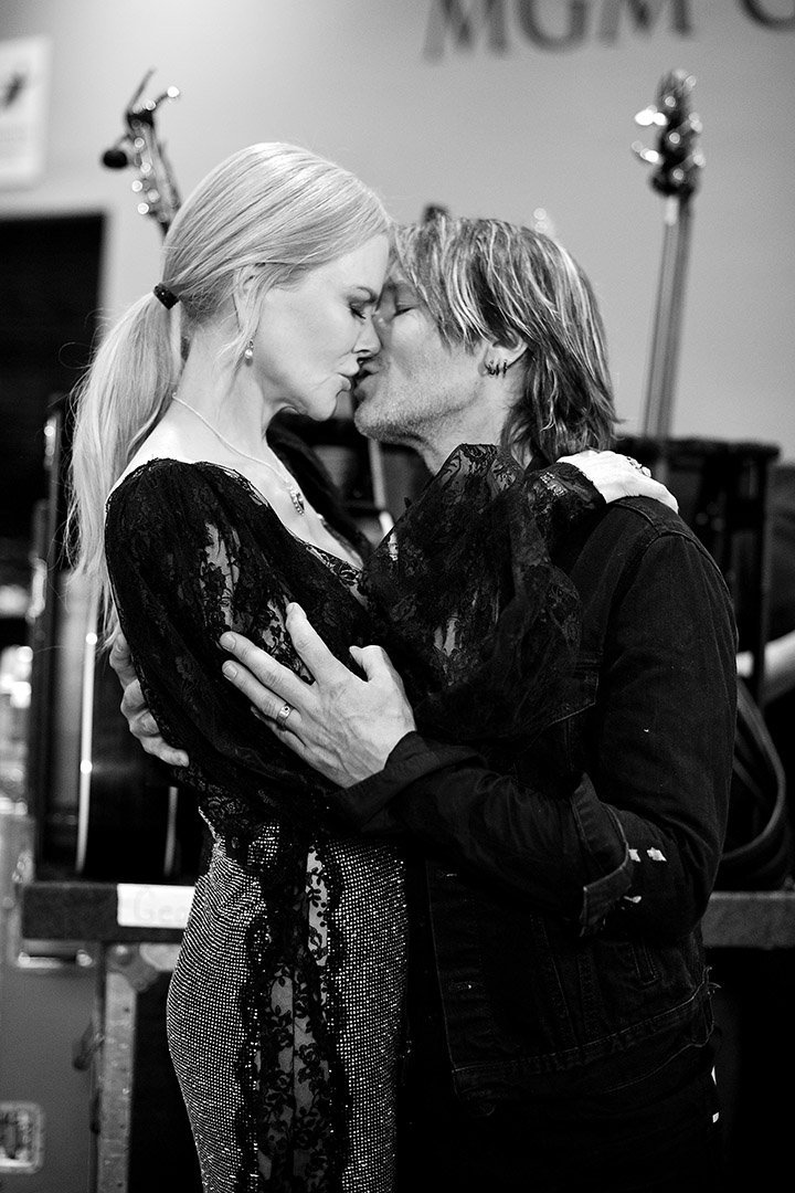 Nicole Kidman and Keith Urban in one of their famous PDA. I Image: Getty Images.