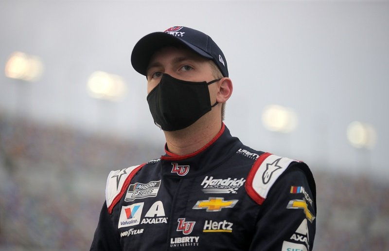 William Byron captured prior to the NASCAR Cup Series Coke Zero Sugar 400 at Daytona International Speedway in Daytona Beach, Florida in August 2020. | Image: Getty Images.