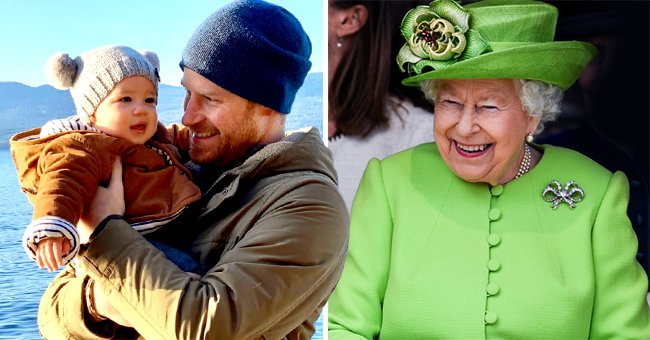 Prince Harry Reveals Archie's 1st Word & How He Reacted to a Christmas Present from the Queen