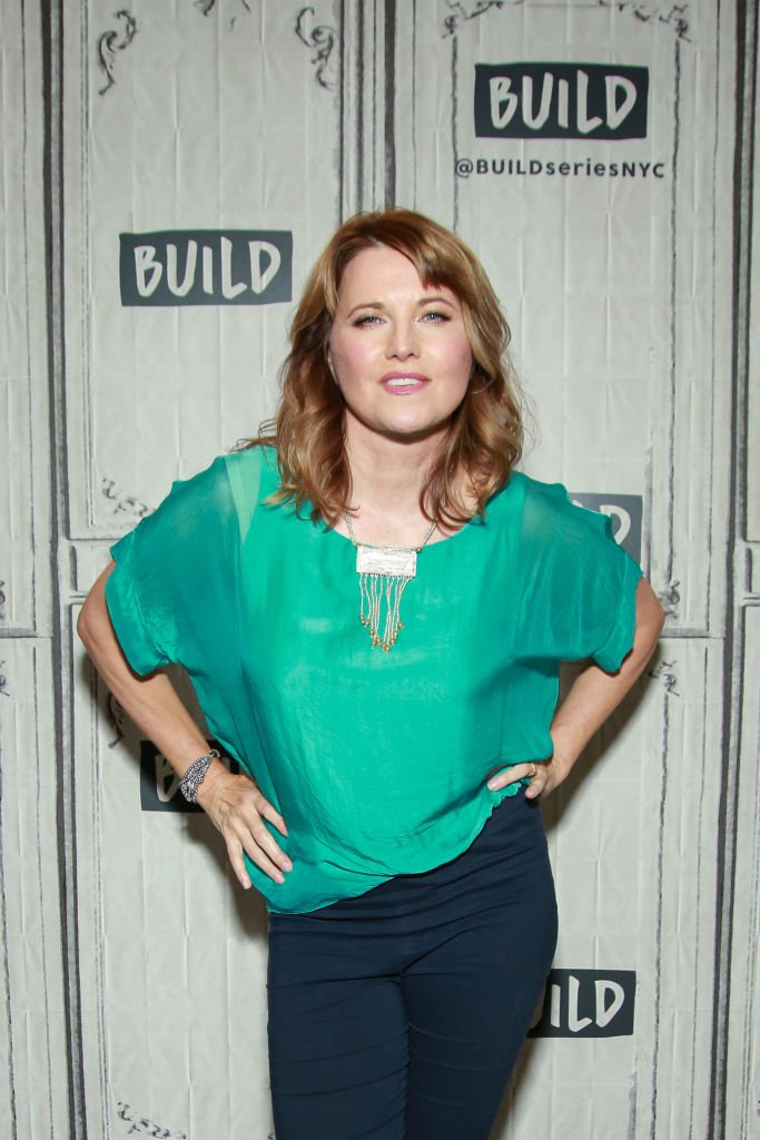 Lucy Lawless visits Build Studio on July 22, 2019 | Getty Images / Global Images Ukraine