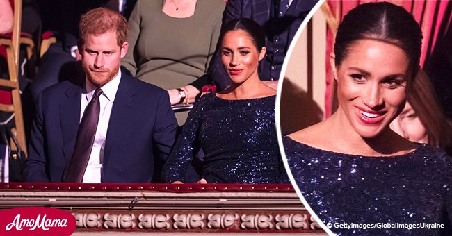 Meghan Markle and Prince Harry caught having an adorable PDA moment in a sneakily recorded video