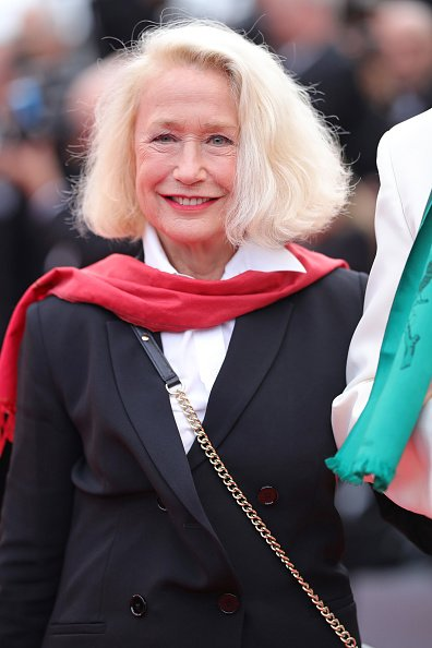 "Brigitte Fossey assiste à la projection de ""Sibyl"" lors du 72e Festival de Cannes le 24 mai 2019 à Cannes, France. 