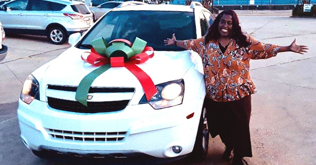 Anita Singleton Given a Car Thanks to Police Officer Bradley Peck Who Saw Her Walking 6 Miles to Work