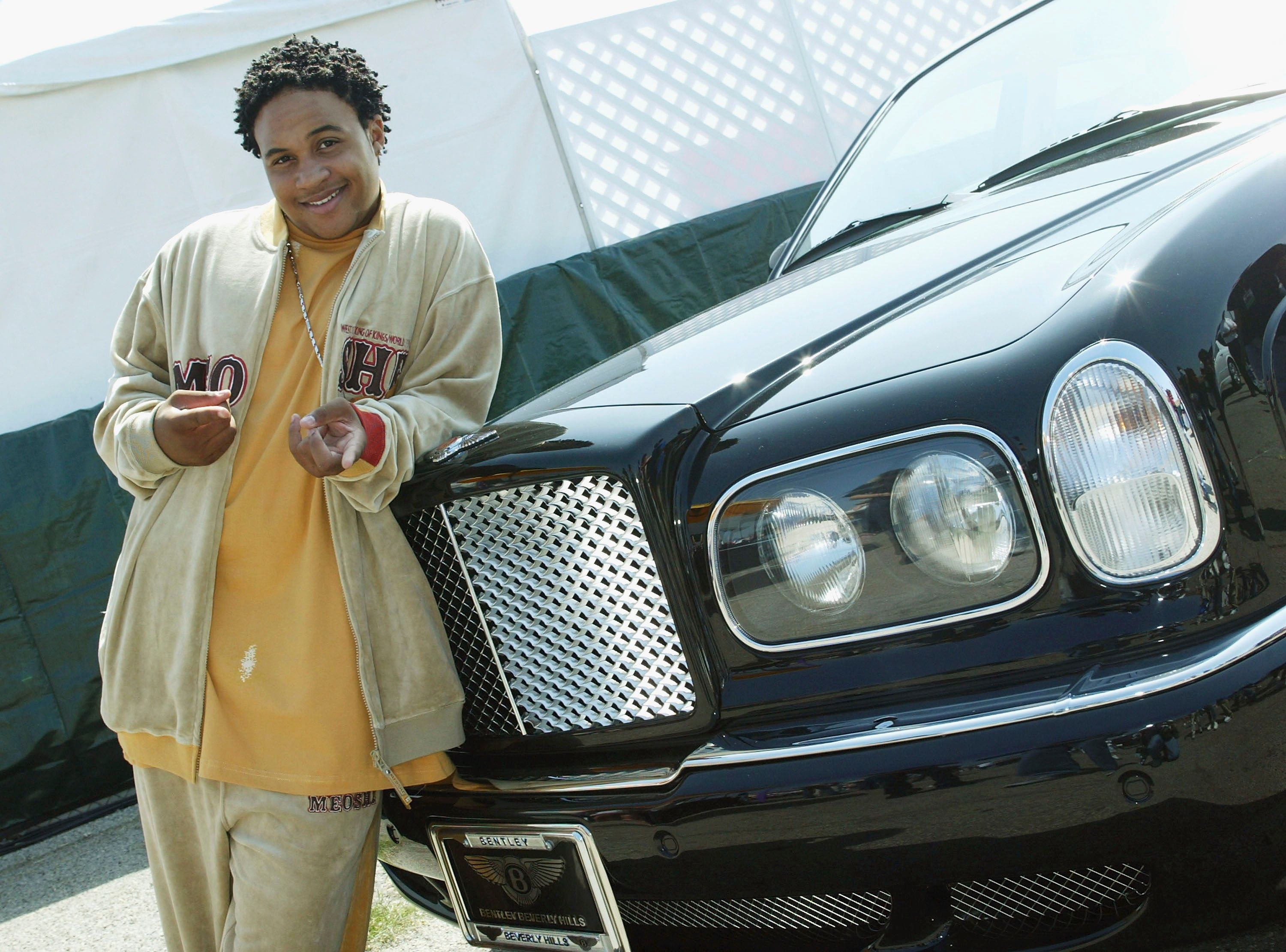 """Orlando Brown at Shaquille O'Neal's children's benefit """"Shaqtacular VIII"""" in Santa Monica in 2003 