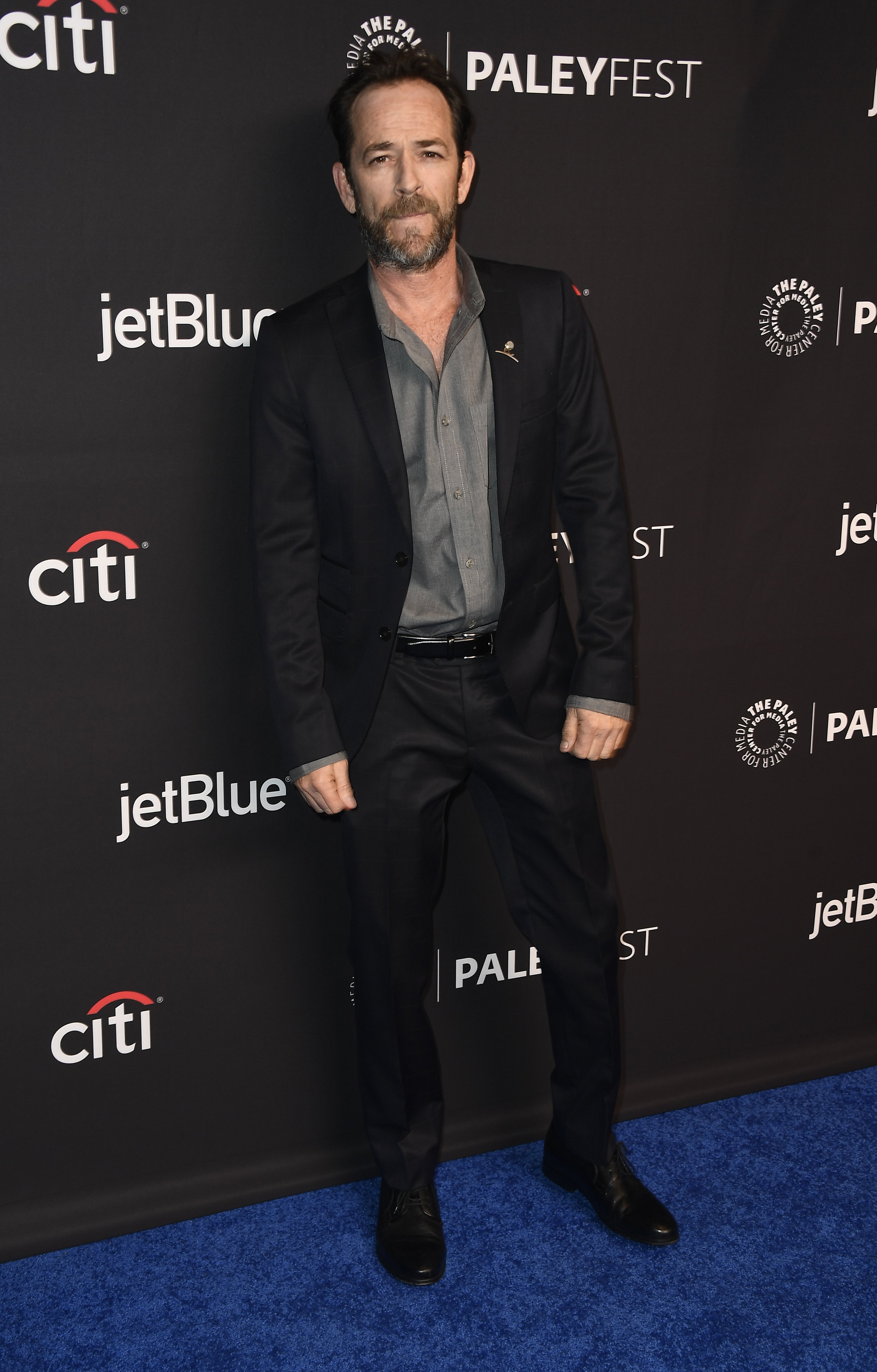 Luke Perry arrives for the 2018 PaleyFest Los Angeles | Photo: Getty Images