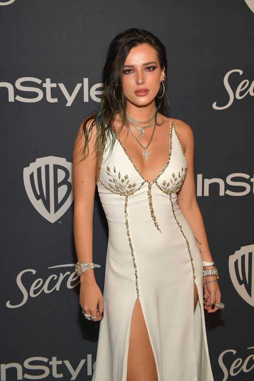 Bella Thorne during The 2020 InStyle And Warner Bros. 77th Annual Golden Globe Awards Post-Party at The Beverly Hilton Hotel on January 05, 2020 in Beverly Hills, California. | Source: Getty Images