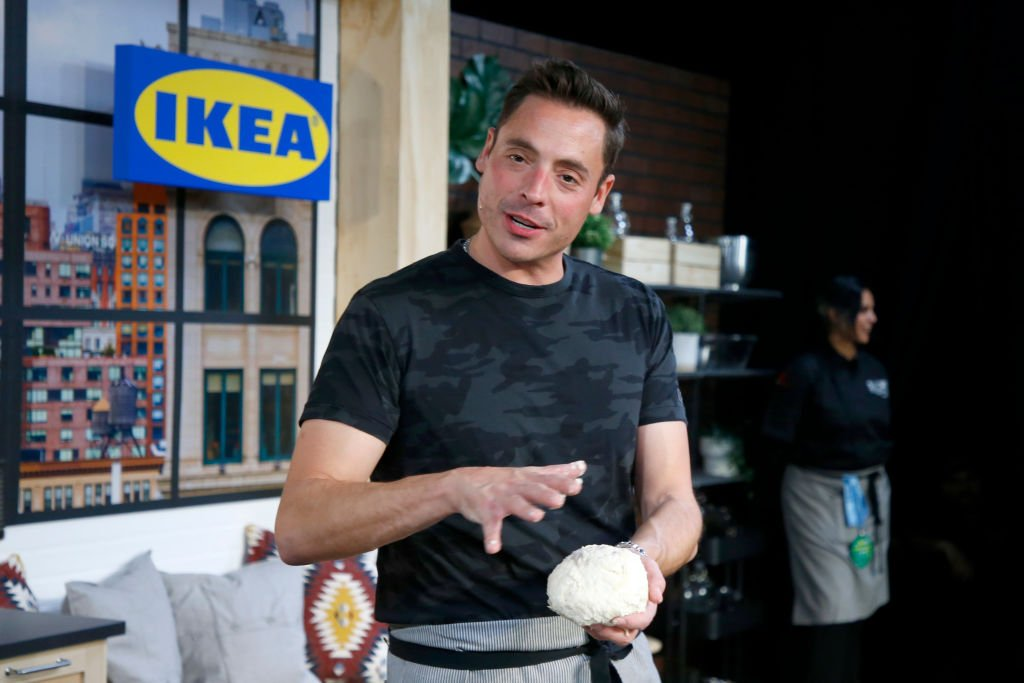 Jeff Mauro at The IKEA Kitchen presented by Capital One at Pier 94 on October 13, 2019 | Photo: Getty Images