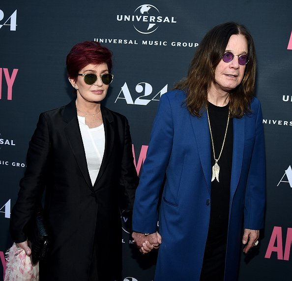 Sharon Osbourne and Ozzy Osbourne at ArcLight Cinemas on June 25, 2015 in Hollywood, California | Photo: Getty Images