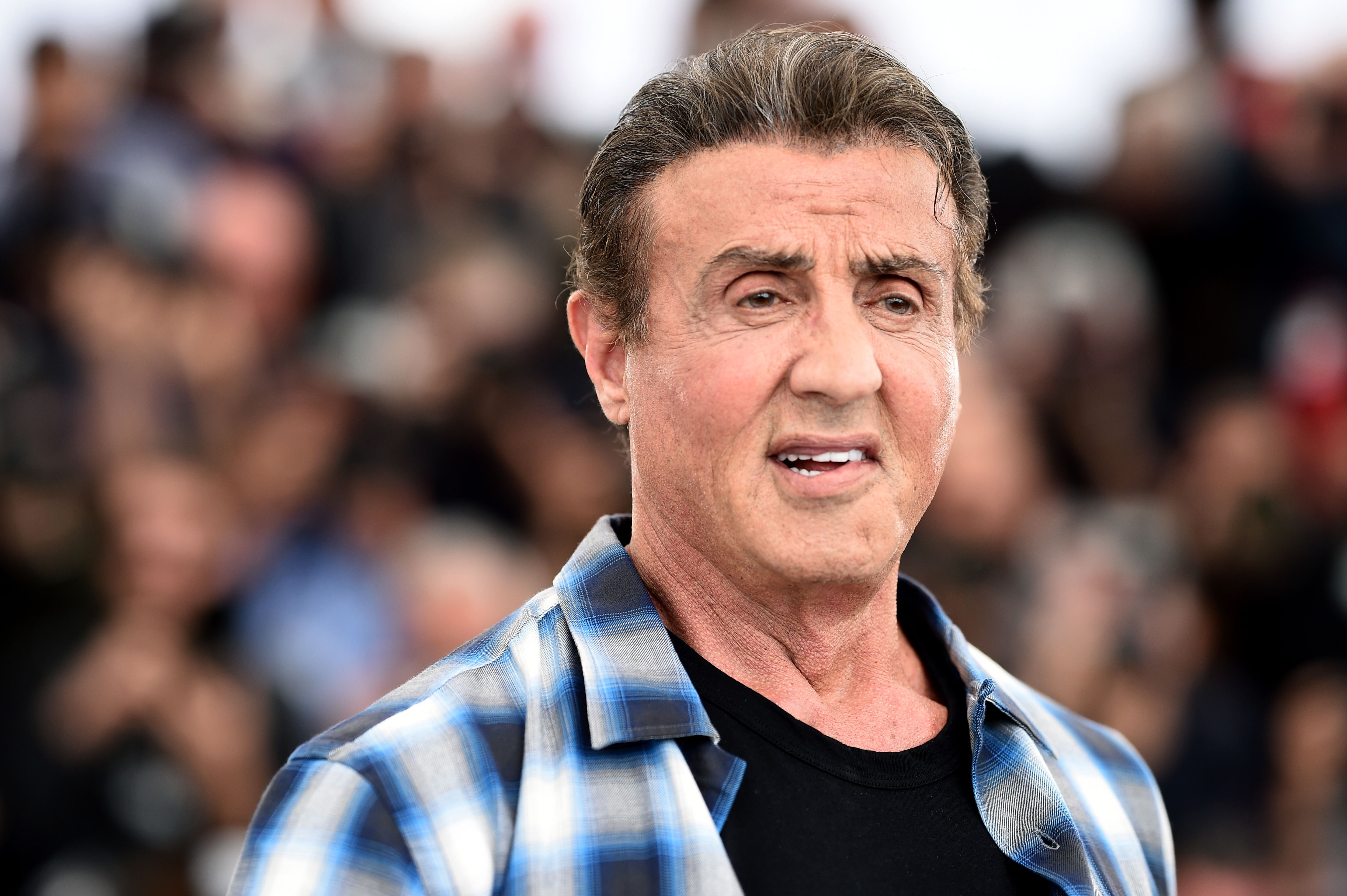 """Sylvester Stallone at thephotocall for """"Sylvester Stallone & Rambo V: Last Blood"""" during the 72nd annual Cannes Film Festival on May 24, 2019   Photo: Getty Images"""