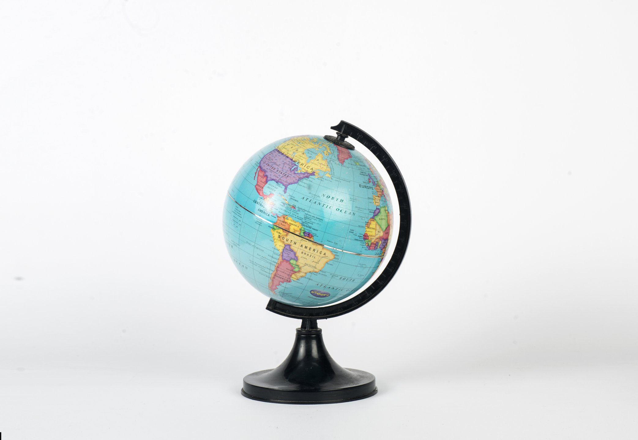 Globe showing North and South America including USA   Photo: Getty Images