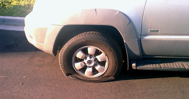 Daily Joke: Man Had a Flat Tire in Front of a Psychiatric Hospital
