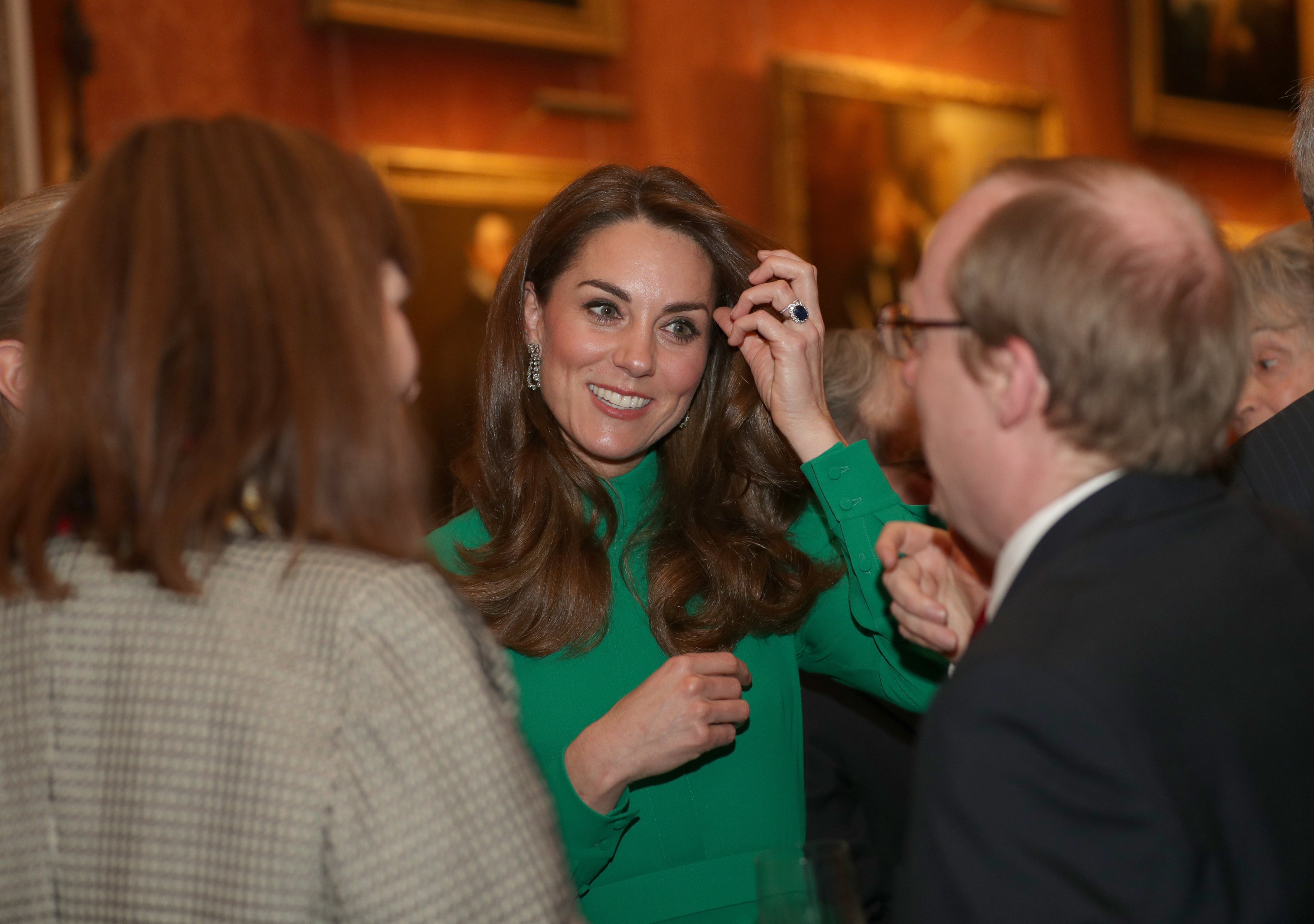 Kate Middleton attends NATO Reception for world leaders in London, England on December 3, 2019 | Photo: Getty Images