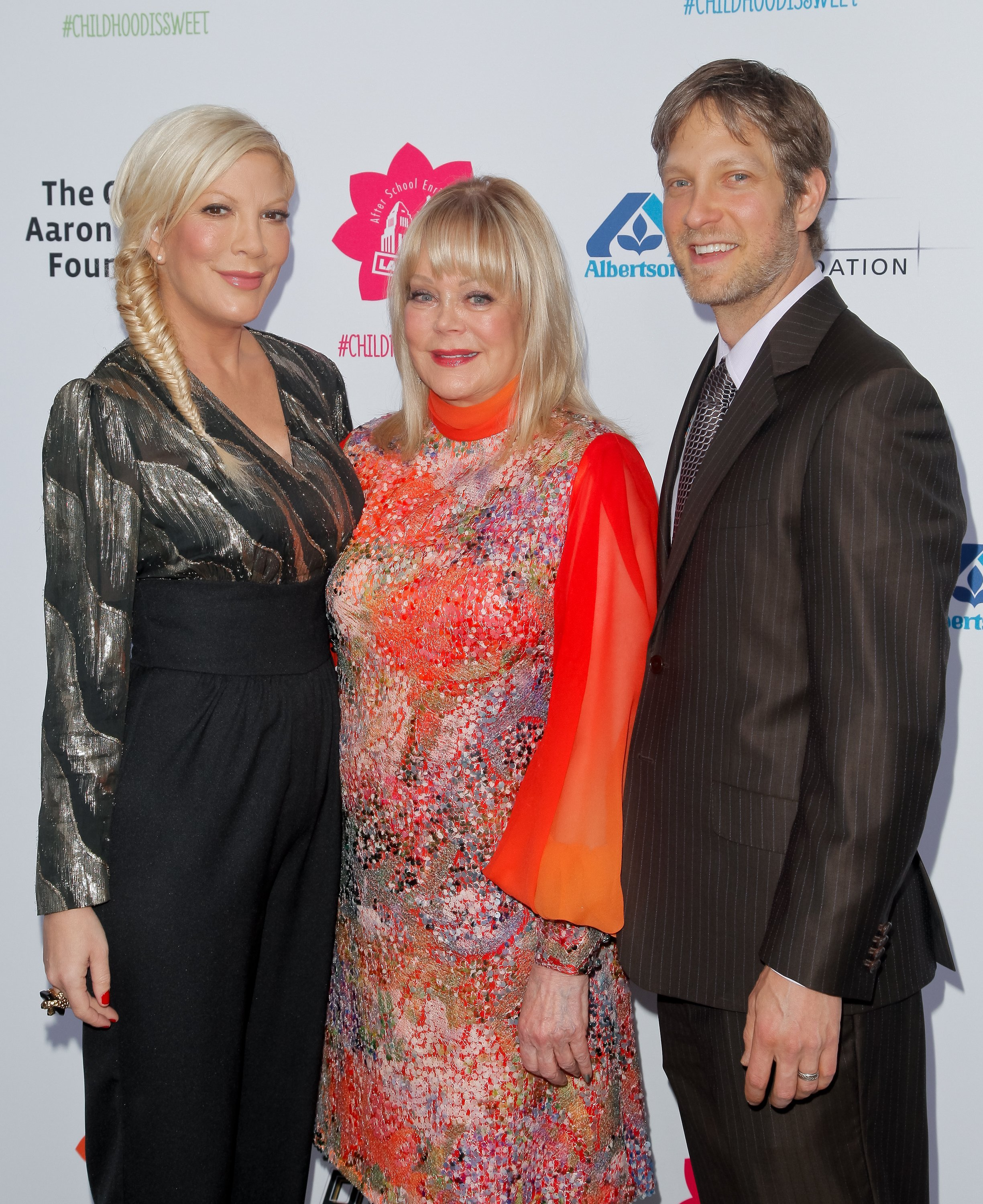 Tori Spelling, Candy Spelling and Randy Spelling attend LA's Best annual family dinner | Source: Getty Images