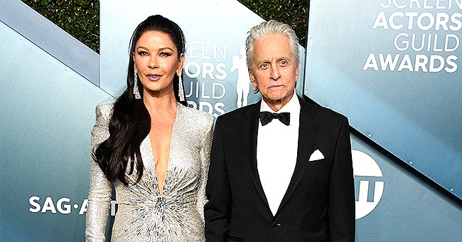 Michael Douglas and Wife Catherine Zeta-Jones Talk about Their 19-Year Marriage at the 2020 SAG Awards