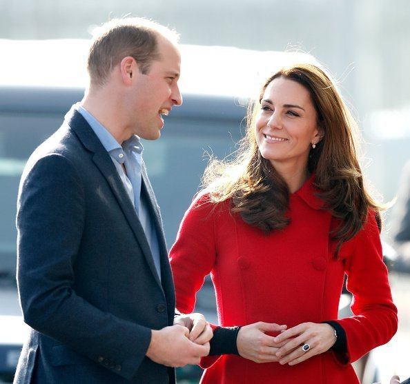 Prince William, Duke of Cambridge and Catherine, Duchess of Cambridge in Belfast, Northern Ireland. | Photo: Getty Images