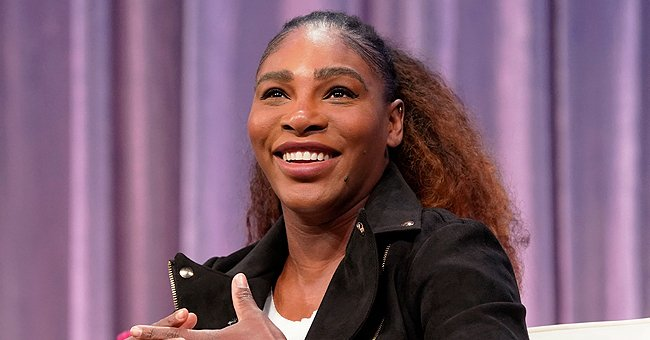 Serena Williams' Daughter Olympia Drinks Water in a Blue Tennis Dress Amid Her Training (Photo)