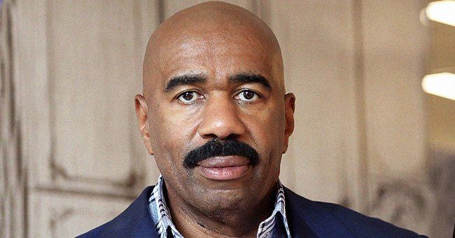 Fans Are Puzzled after Not Seeing Steve Harvey at His Parents-in-Law's 60th Wedding Anniversary