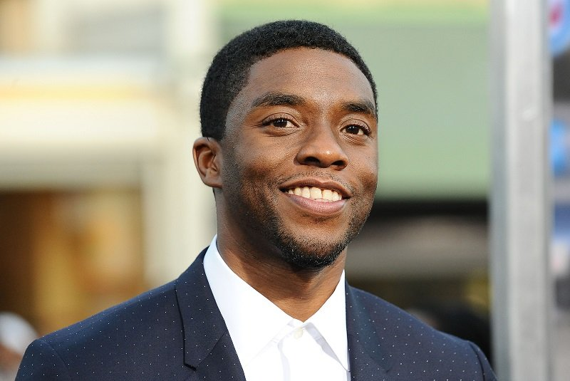 Chadwick Boseman on April 7, 2014 in Los Angeles, California   Photo: Getty Images