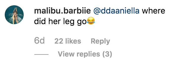 Fans react to Kylie Jenner's supposed photoshopped leg | Instagram.com/kyliejenner