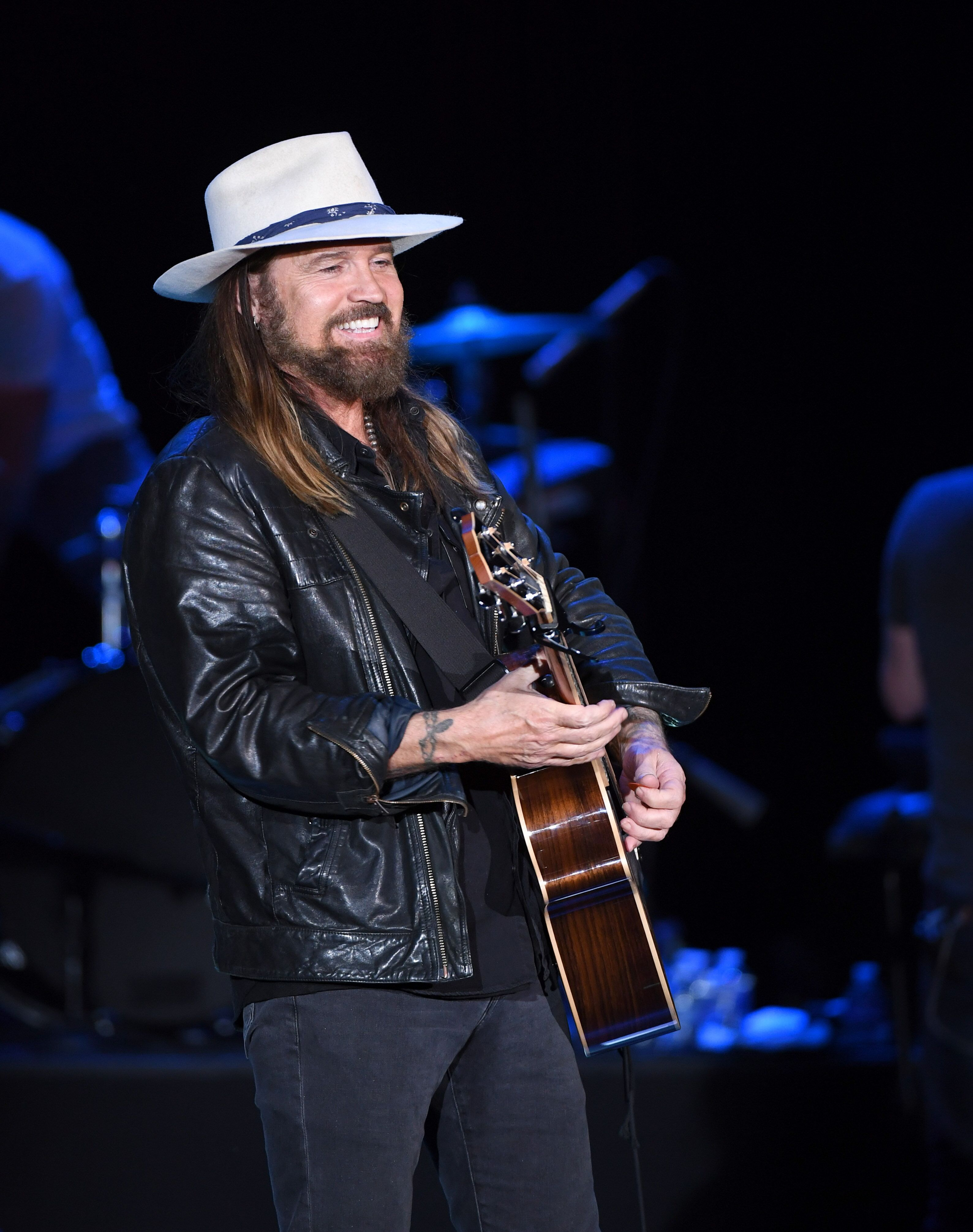 "Billy Ray Cyrus kicks-off his five-show residency ""Billy Ray Cyrus - The Residency"" at The Orleans Showroom on May 7, 2019, in Las Vegas, Nevada 