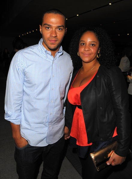 Jesse Williams (L) and Aryn Drake-Lee attend the Prada book launch cocktail held at Prada Rodeo Drive on November 13, 2009, in Beverly Hills, California. | Source: Getty Images.