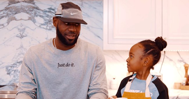 LeBron James' Daughter Zhuri Melts Hearts with Her Cute Pigtails as She Flashes Big Smile in Photo