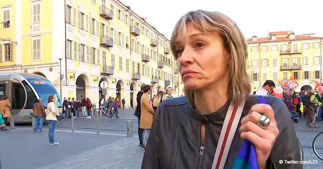 """La fille de Geneviève, manifestante blessée critique Macron : """"Pas digne d'un président"""""""