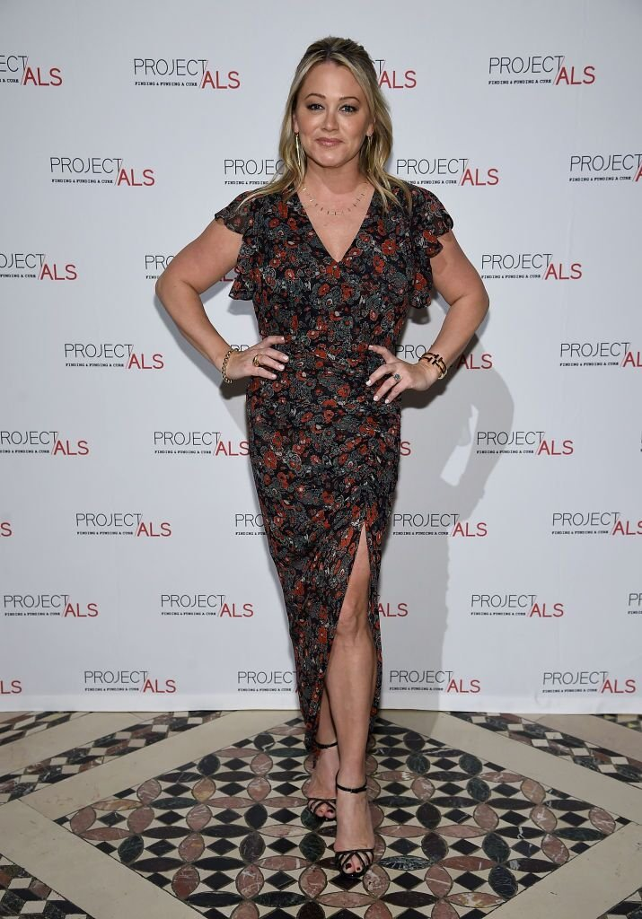 Christine Taylor at the 2018 Project ALS Gala in New York. | Photo: Getty Images