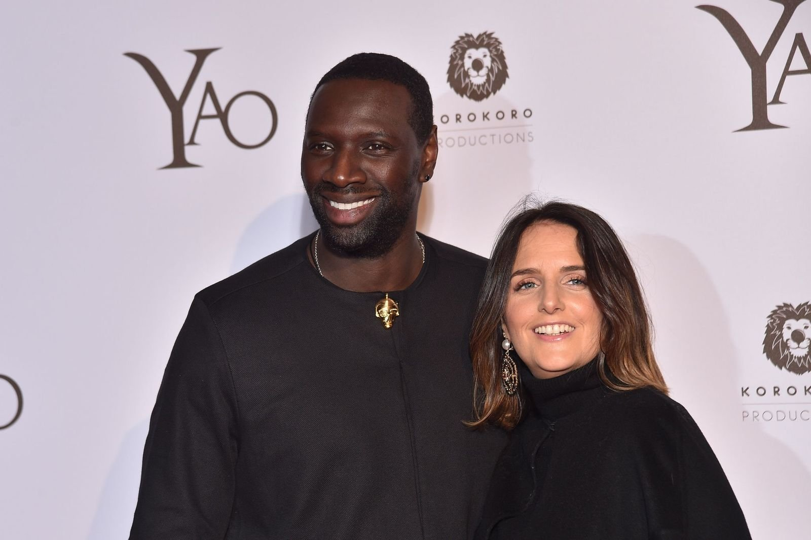 Omar Sy et son épouse | Photo : Getty Images