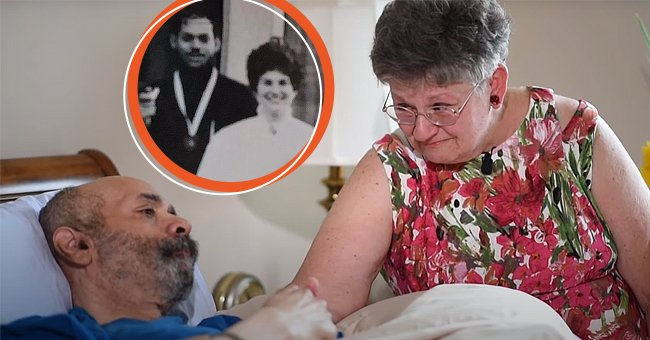 Jeannie Gustavson and Steve Watts reunited after 42 years apart.   Source: Gofundme.com/f/steve-jeanne-love-finds-a-way and Youtube.com/KGW News