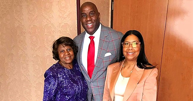 Magic Johnson Wrote a Touching Tribute for His Mom Christine on Her 85th Birthday –– See It Here
