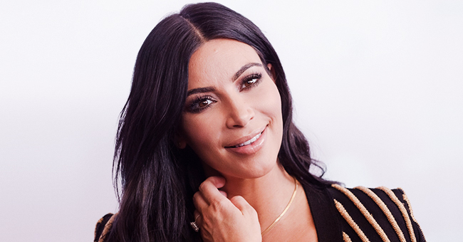 Kim Kardashian Matches Her Girls in the First Snap with All 4 Kids